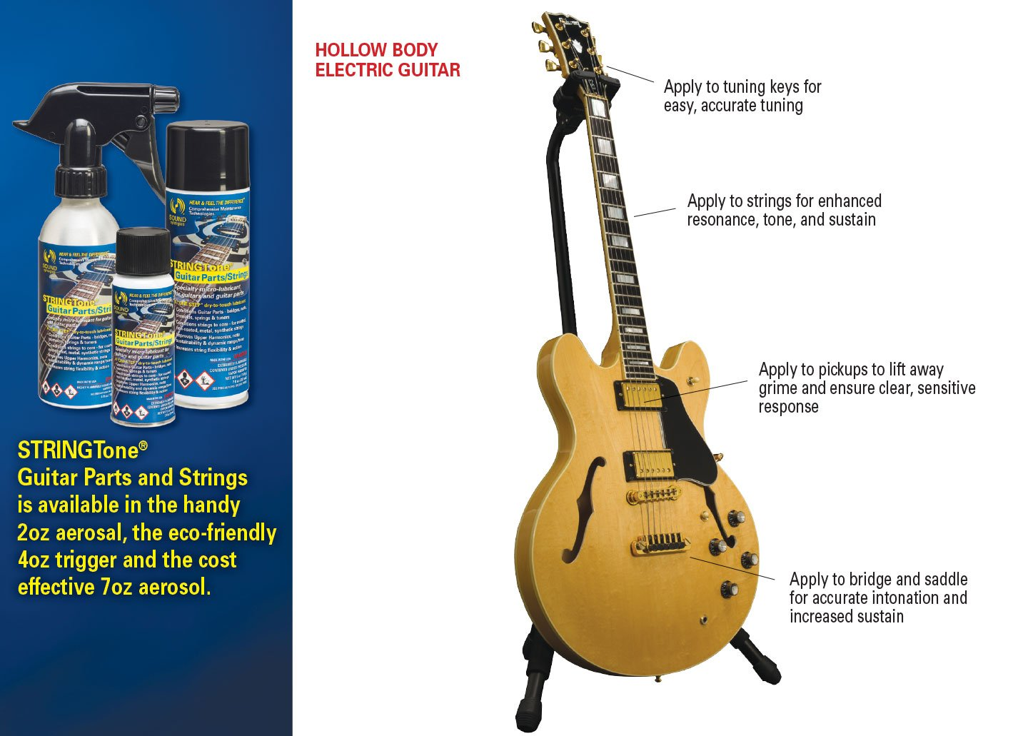 Stringtone For All Instrument Strings String Lubricant Parts Electric Guitar And Conditioner Including Hardware